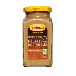 Moutarde BIO Mélange du diable - 300g