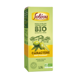 Huile d'olive bio Caractère – Bag-In-Box 1,5L