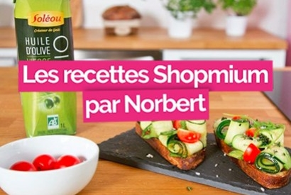 Nos huiles d'olive ont inspiré le Chef Norbert Tarayre !